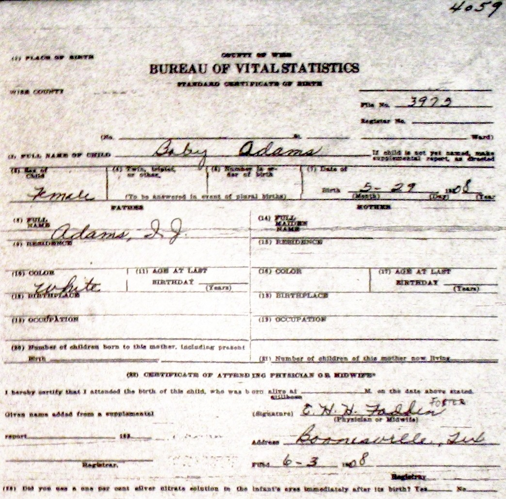 Oklahoma Birth Certificate Blank Forms Pictures to Pin on – Blank Birth Certificate Form