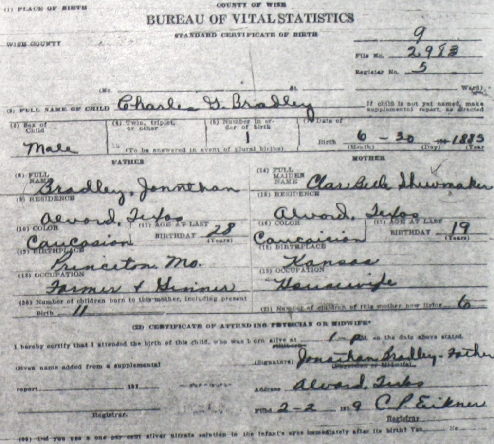 how to get birth certificate number