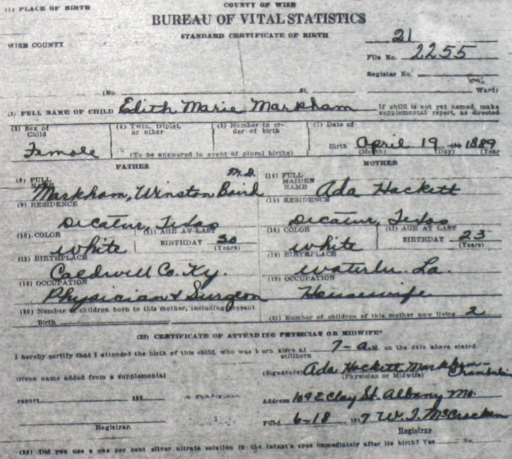 how to find birth certificate number