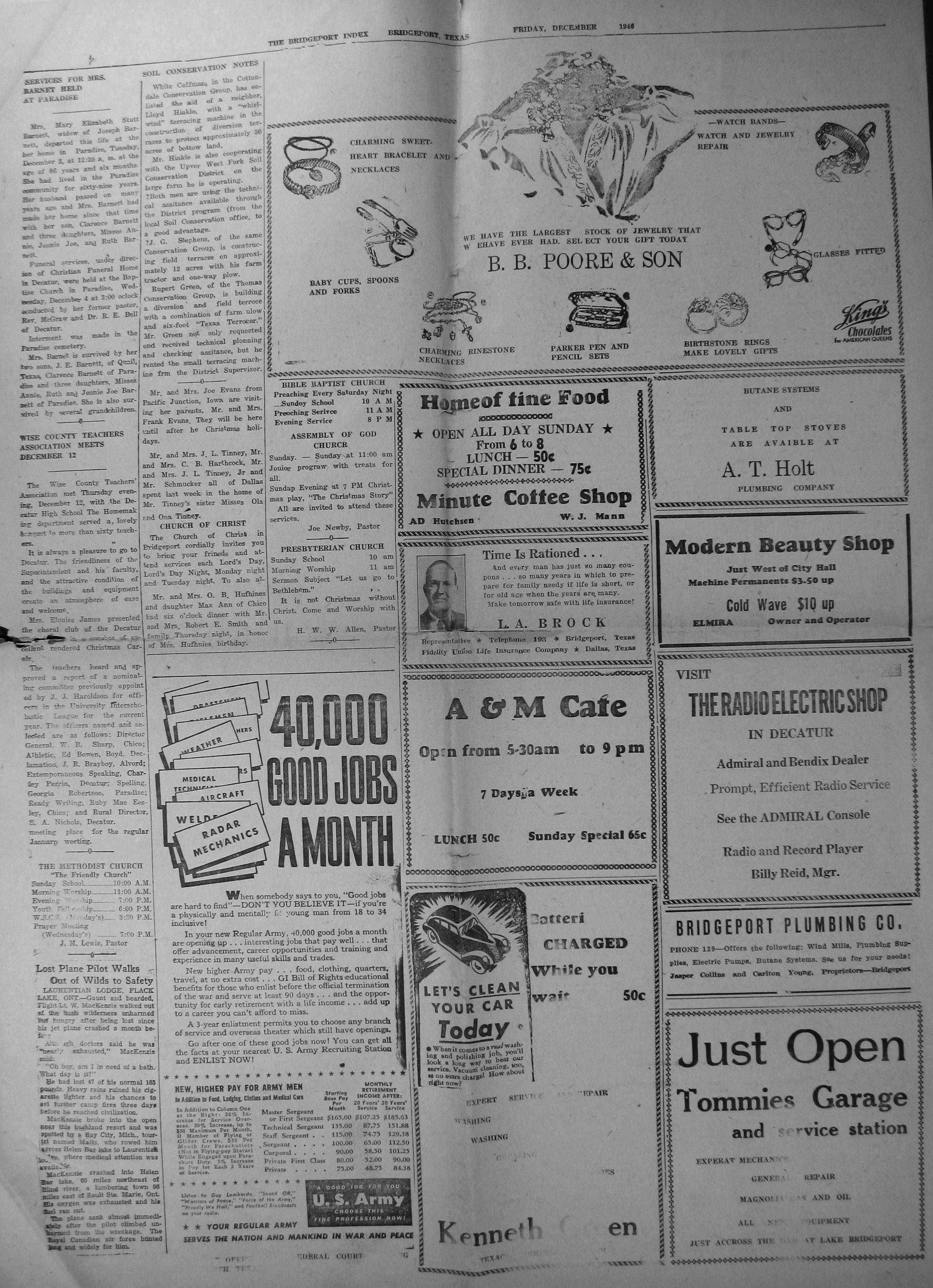 index of s from the 1944 1946 bridgeport index newspaper cokendolpher floyd loyd story 1944 03 03 pg01 · cokendolpher loyd story 1945 05 11 pg01 · colgrove tommy picture 1945 05 25 pg01