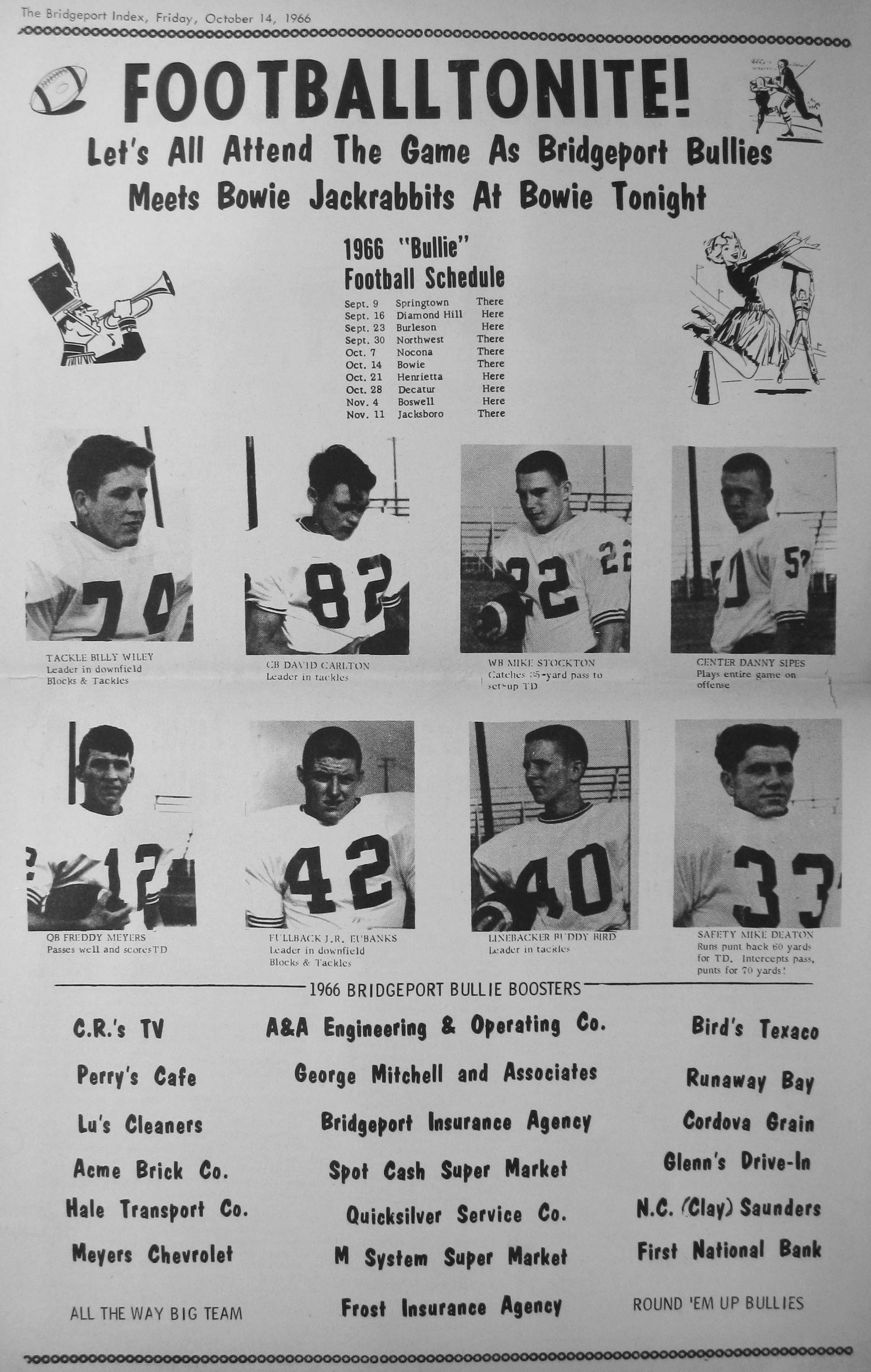 index of s from the 1966 bridgeport index newspaper miles clarence picture 1966 09 30 pg16 · miles clarence picture 1966 11 18 pg07 · miller ivy picture 1966 09 09 pg10