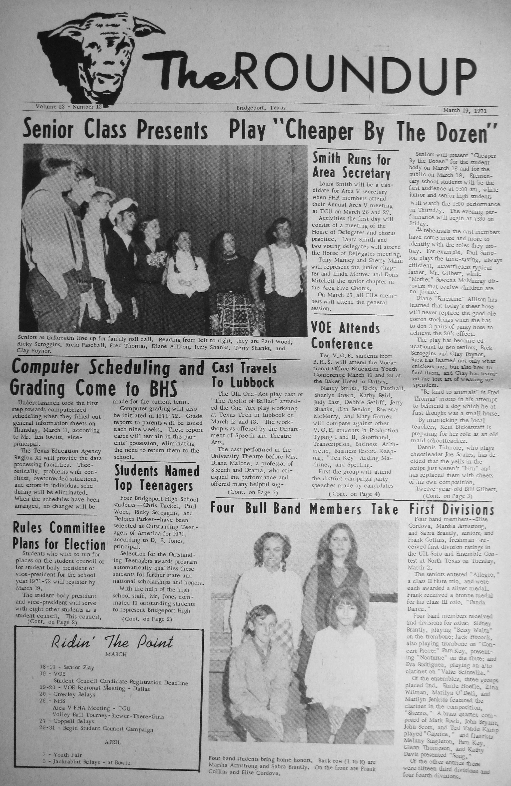 index of s a l from the 1971 bridgeport index newspaper cook robert leslie sharon gwen shackelford wedding 1971 03 26 pg17