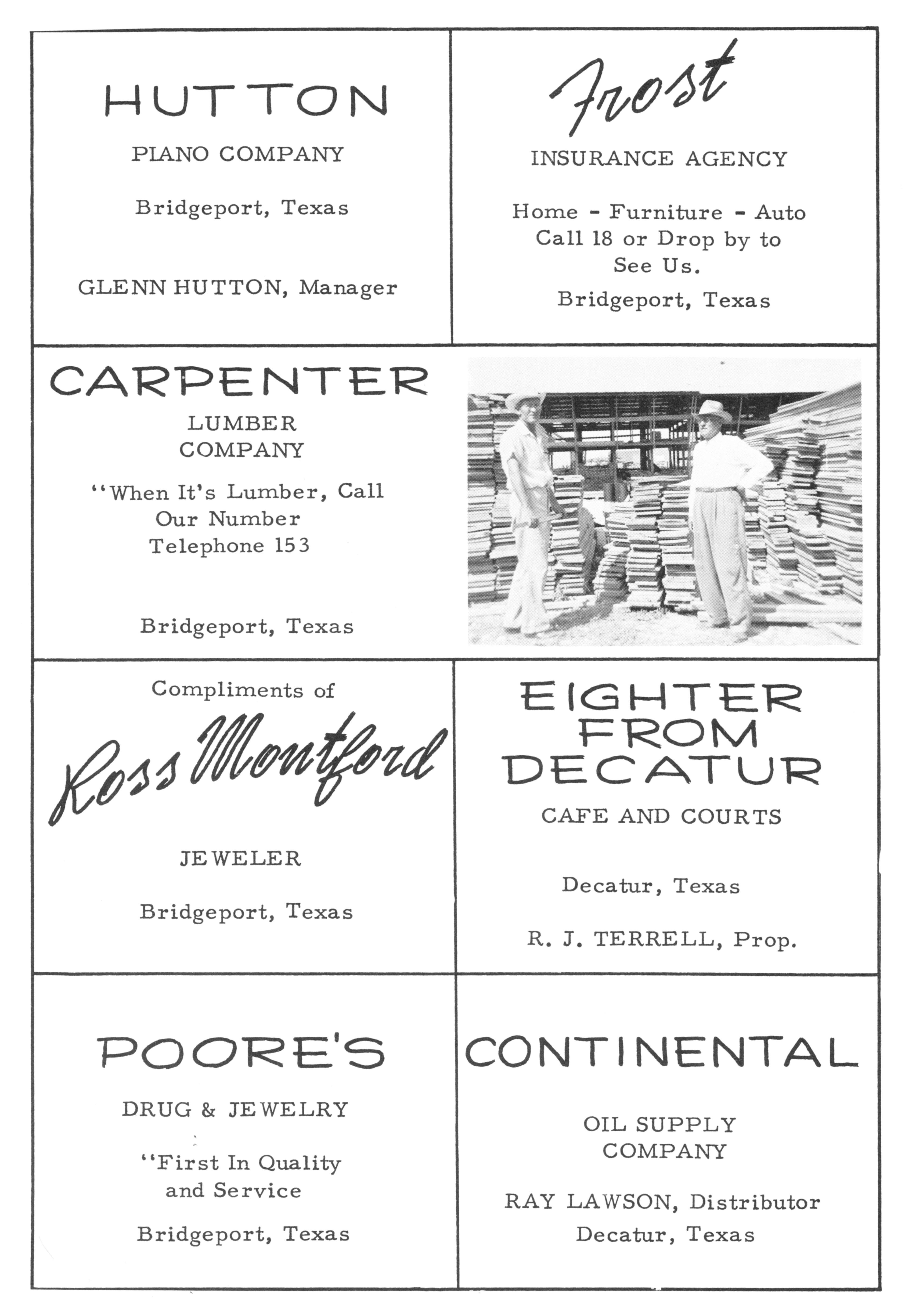 Cook Brothers Lumber Co Chs Advertising Cook Brothers Lumber Co Chs  Advertising Cook Lyla Chs Teacher Picture With Cook Brothers Furniture Store